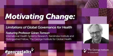 Limitations of Global Governance for Health