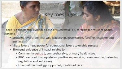 Strengthening primary health care in the COVID-19